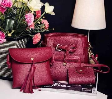 Artificial Leather Ladies handbag