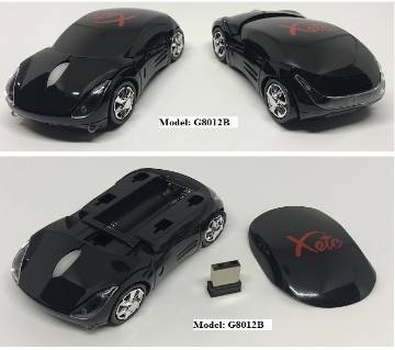 Wireless  Mouse (Car Shape Optical)