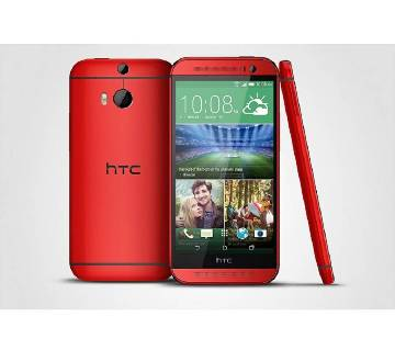 HTC M8 (Red) (2 GB, 16 GB)