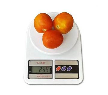 Digital Kitchen Scale 5 KG - White