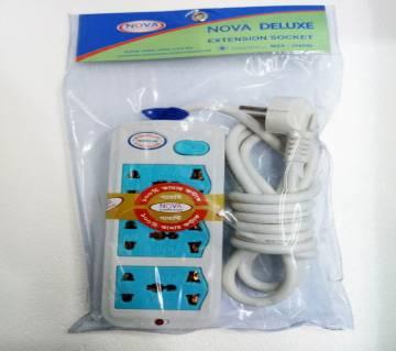 Nova মাল্টিপ্লাগ (Small Cable) - হোয়াইট