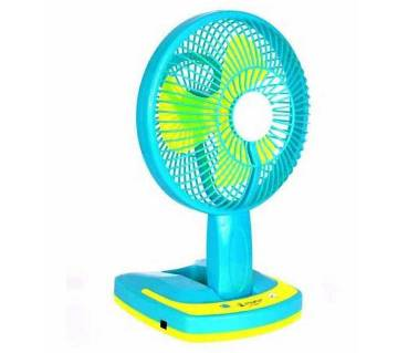 Chargeable Table fan with LED light