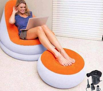 2in1 Air bed Army chair