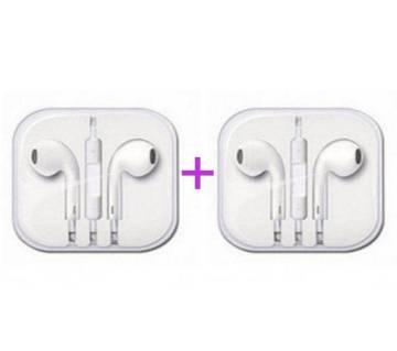Apple Earphone (Replica) Combo Offer (2piece)