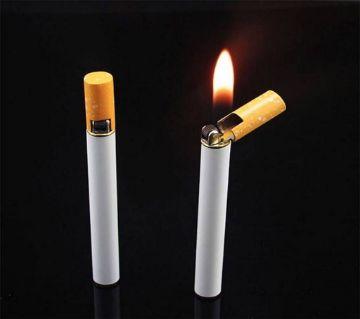 Refilable Butane Gas Flint Cigrette Shaped Lighter