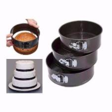Round Shaped Cake Pan Set (3 Pieces)
