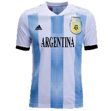 Argentina Half Sleeve Home Jersey - World cup 2018 (Copy)