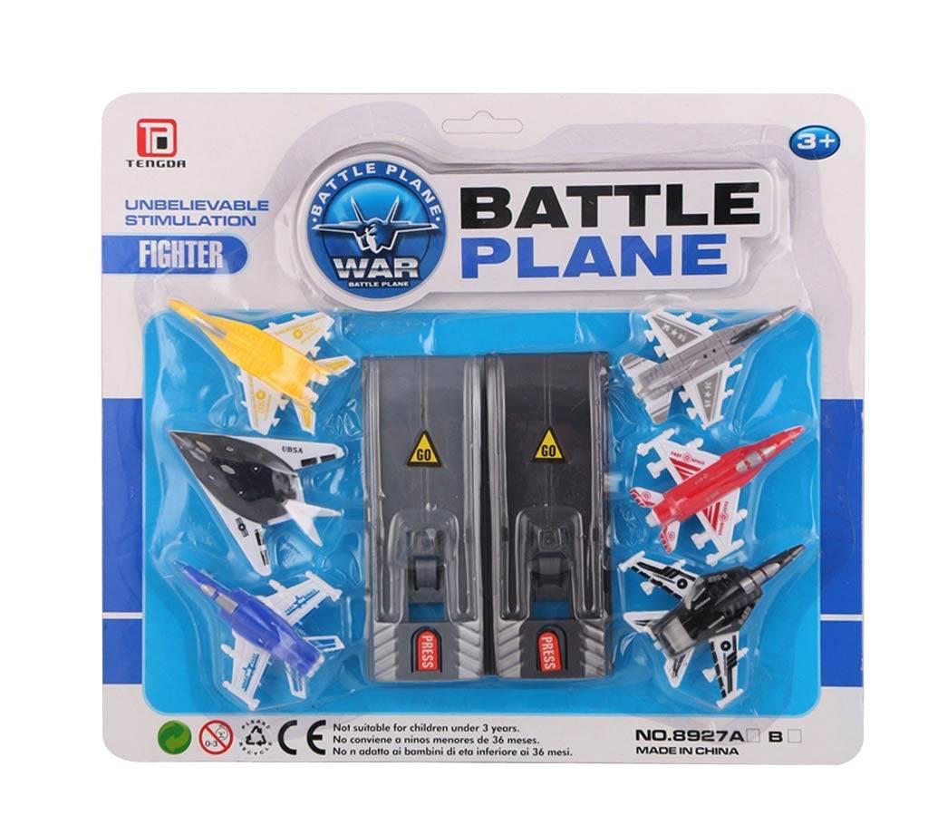 6 যুদ্ধ ব্যাটেল প্লেন সেট ফর কিডস বাংলাদেশ - 760521