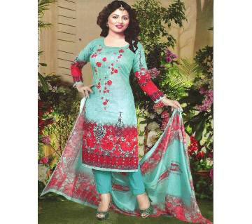Unstitched Pakistani Firdous Lawn Salwar Kameez