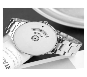 Mens Watch - white dial