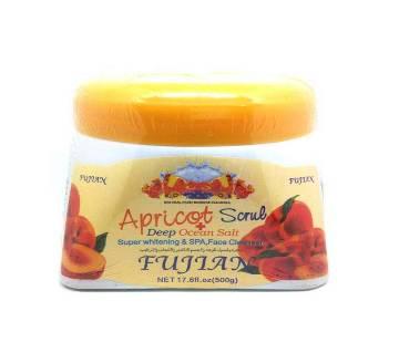 fujian apricot scrub