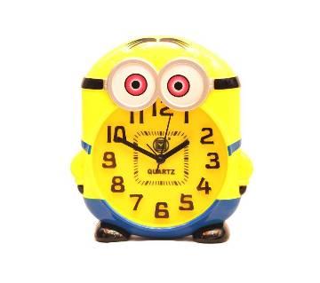 Minion Shaped Table Clock