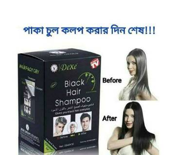 Dexe Black Hair Shampoo 25ml  U.K.