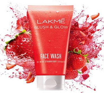 Blush and Glow Strawberry Gel Face Wash 100g
