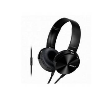 Sony MDR-XB450AP Headphone (Black) Copy