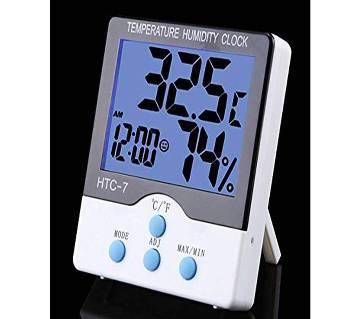 LCD TEMPERATURE HUMANITY CLOCK