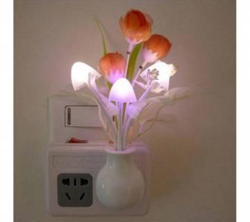LED Mushroom Night Light Lamp - White