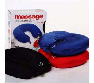 Neck Message  Pillow  (blue) -1piece