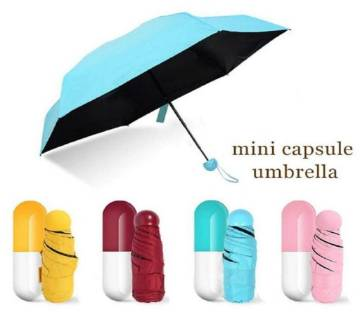 Mini Capsule Pocket Umbrella