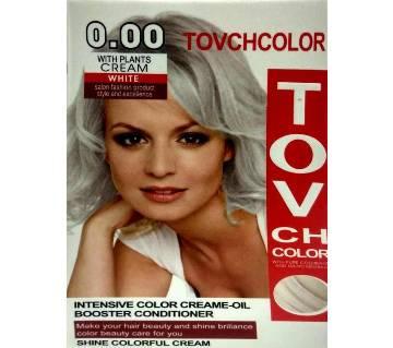 TOVCH White hair colour-60ml-China