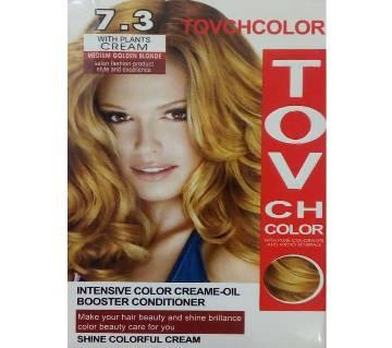 Tovch meium golden blomde hair colour-60ml-China