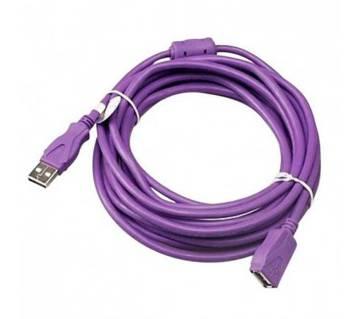 USB Extension Cable - 5m - Purple