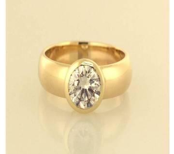 Golden Stainless Steel Finger Ring for Men
