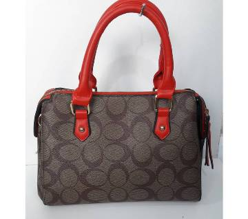 Artificial Leather Ladies Vanity Bag/Hand Bag