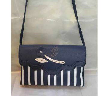 Artificial Leather Ladies Side Bag