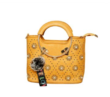 Yellow Hand Bag for Women