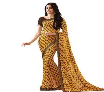 VINAY Indian Georgette Sharee
