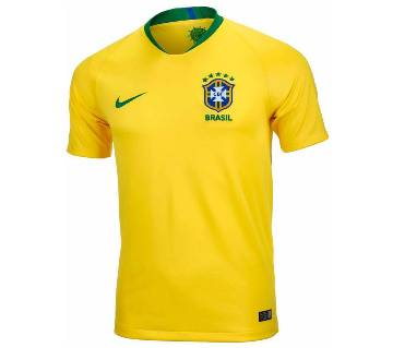 World Cup 2018 Half Sleeve Brazil Jersey (Copy)