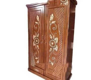 Malaysian Wooden Double Palla Almirah বাংলাদেশ - 6467221