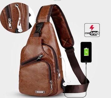 Unisex cross body back pack