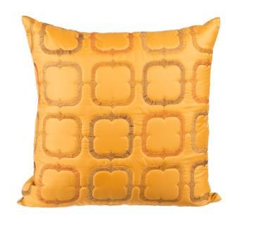 Orange Cushion Cover by Ivoryniche