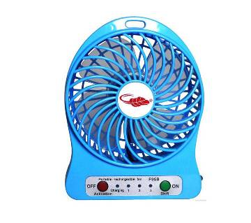 usb rechargeable portable fan