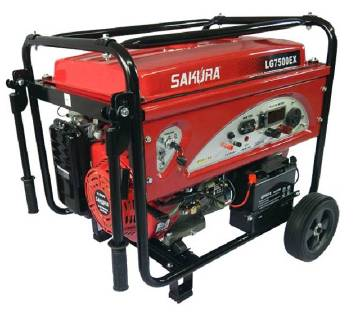 Sakura LG7500EX, 6.5KW Gasoline Generator