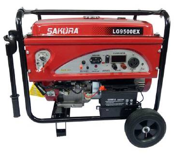 Sakura LG9500EX, 7.5KW Gasoline Generator