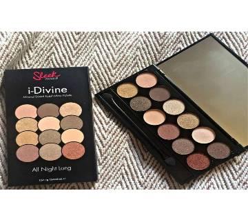 Sleek i-Divine Eyeshadow Palette -All Night Long (USA)