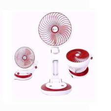 Rechargable Table Fan with Light