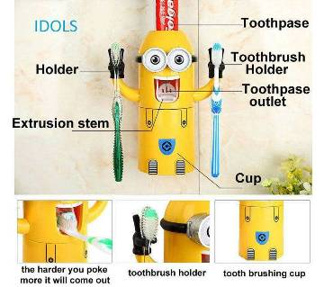 Minions Brush Holder
