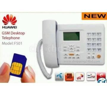 Huawei GSM 1 SIM Telephone F501