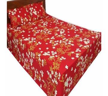 Double Size Cotton Bed Sheet Set