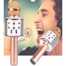 Q7 Bluetooth Karaoke Microphone Speaker