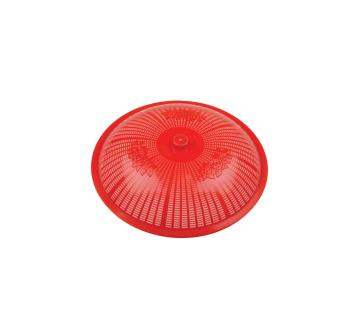 74129 Bengal Food Cover - 16 cm Red (Combo of 10)