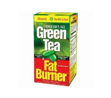 Green Tea - ফ্যাট বার্নার ২০০ পিস (লিকুইড সফট জেল) UK