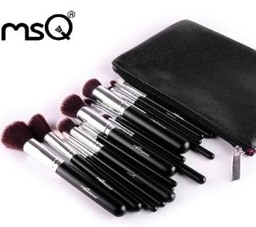 MSQ 15Pcs Brush Set with Bag