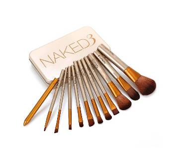 Naked 3 Makeup Brush Set