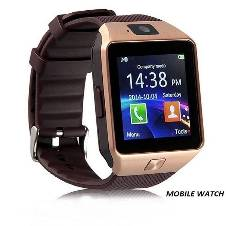 Smart Mobile Watch With Sim & Memory Card Support