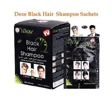 Dexe Black Hair Shampoo 10 Sachets